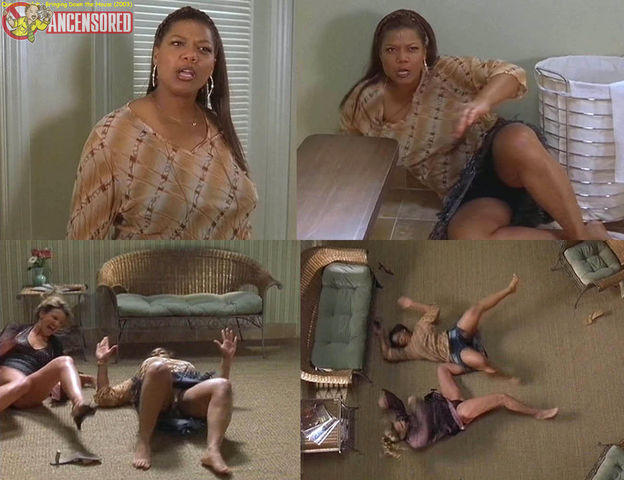 actress Queen Latifah 19 years indecent photography in the club