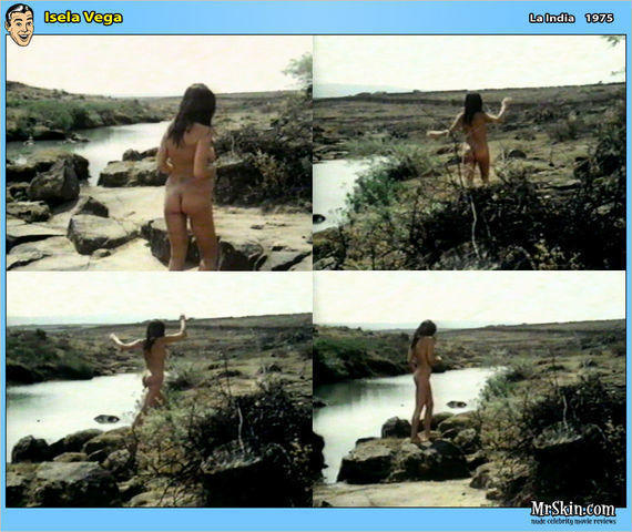 actress Isela Vega 25 years uncovered snapshot beach