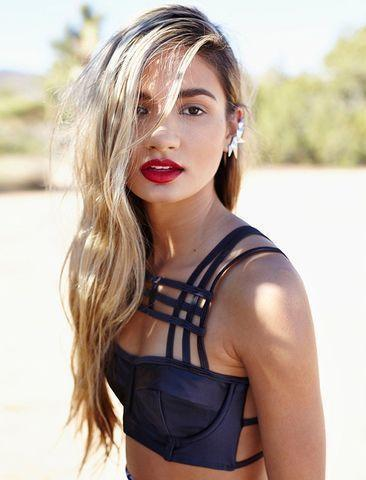 actress Pia Mia Perez 2015 spicy photoshoot beach