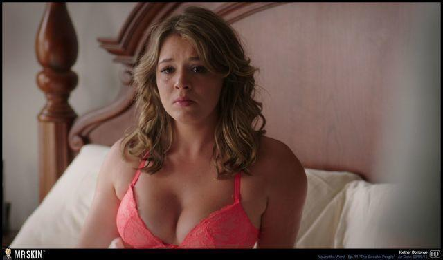 Hot foto Kether Donohue tits
