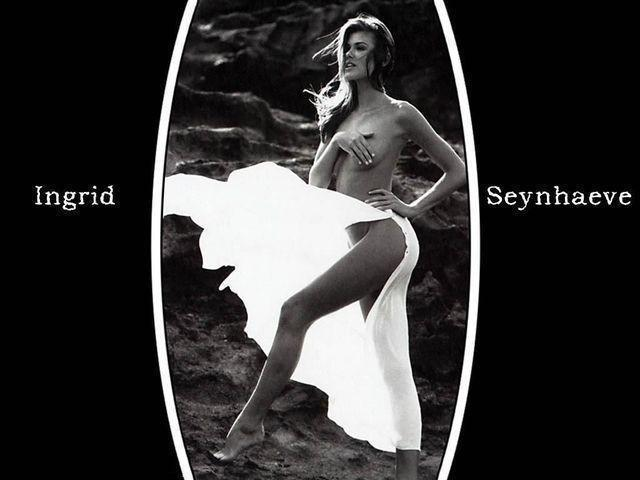 celebritie Ingrid Seynhaeve 20 years Without clothing picture beach