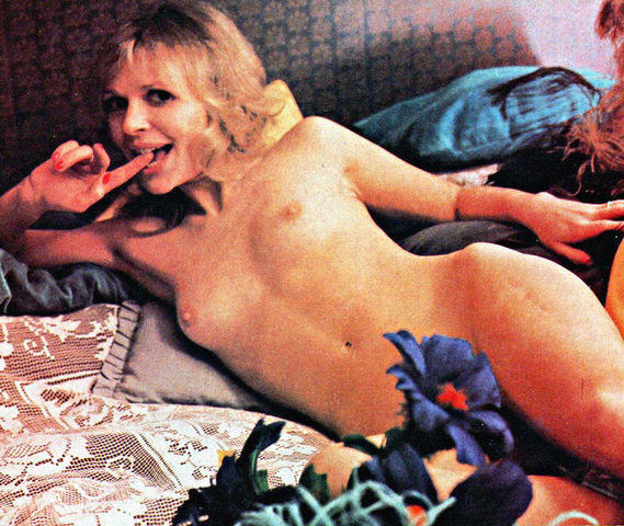 Katy Manning topless image