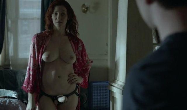 Hot image Isidora Goreshter tits