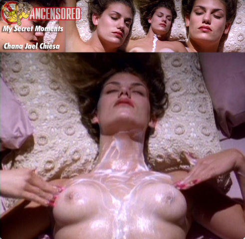 celebritie Chana Jael Chiesa young Without slip snapshot home