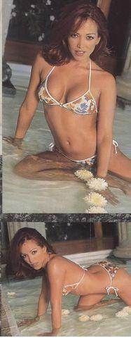 actress Martha Acuña 20 years bosom picture beach