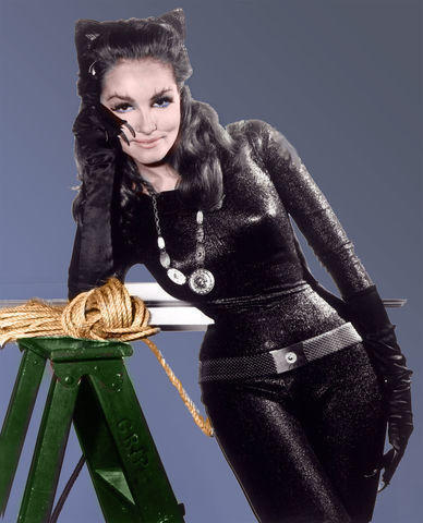 models Julie Newmar 18 years indecent foto in public