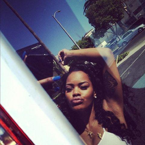 Teyana Taylor topless photography