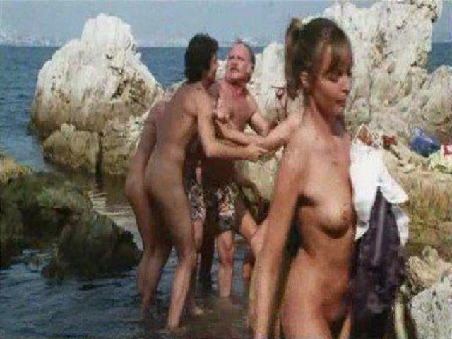 actress Margit Ojetz 20 years undressed picture beach