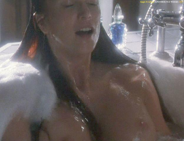 models Angie Everhart young uncovered picture in the club