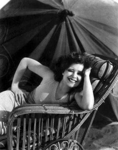 Clara Bow topless art