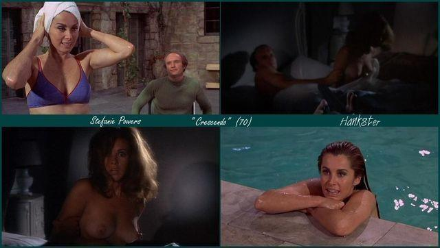 celebritie Stefanie Powers 23 years provocative snapshot home