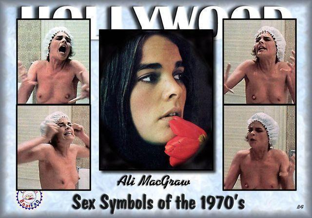 actress Ali MacGraw 19 years unexpurgated pics beach