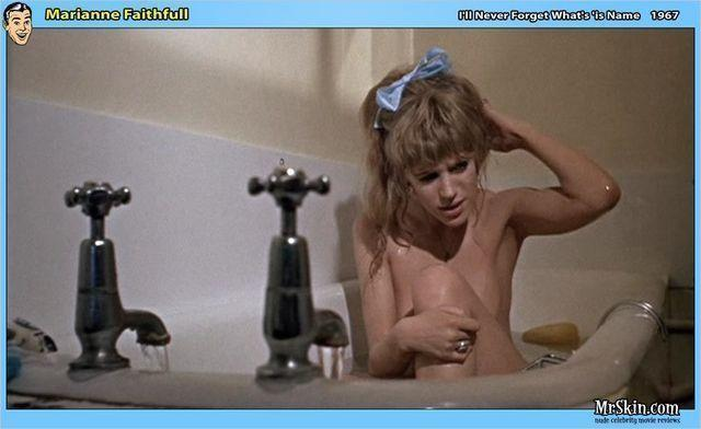 Naked Marianne Faithfull photos