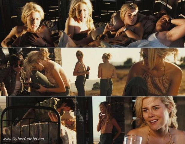 celebritie Rachael Taylor 18 years swimsuit picture in the club