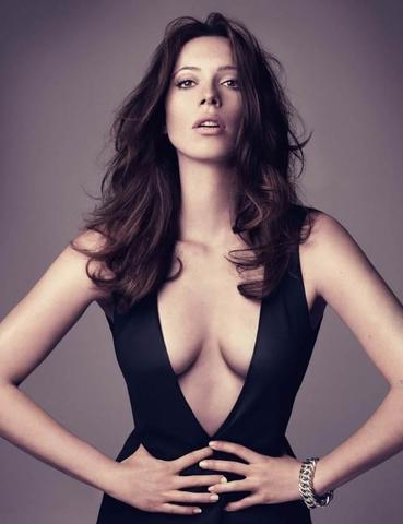 models Rebecca Hall 20 years Without slip photo in the club