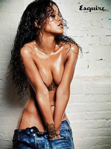 models Rihanna 21 years fervid photos home