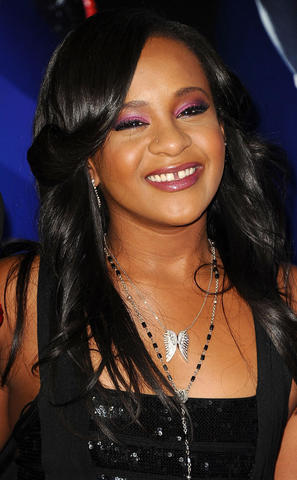 actress Bobbi Kristina Brown 20 years lecherous image beach