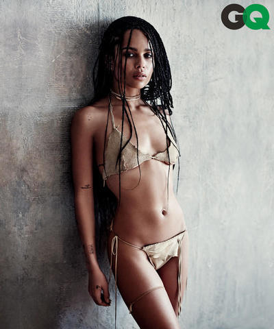 Zoë Kravitz nude photoshoot