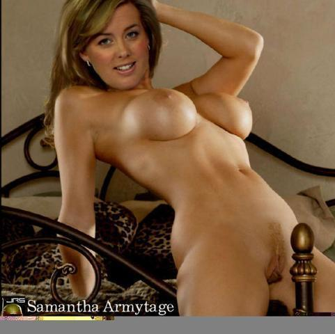 Samantha Brown topless foto