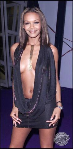 models Samantha Mumba 22 years prurient foto in public