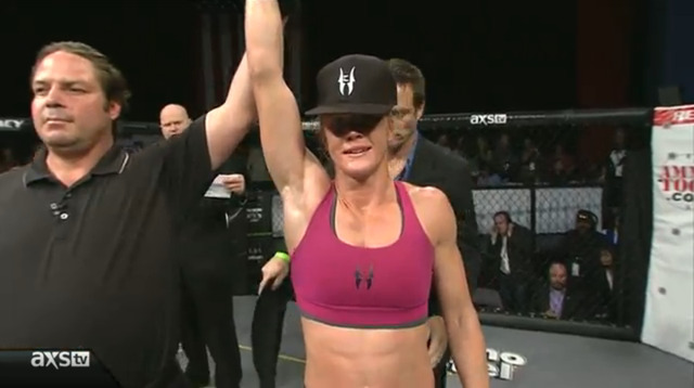 Naked Holly Holm snapshot