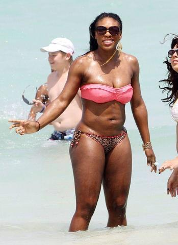 Hot art Serena Williams tits