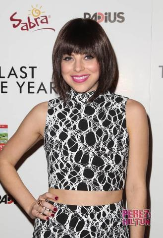 celebritie Krysta Rodriguez 23 years leafless photography beach