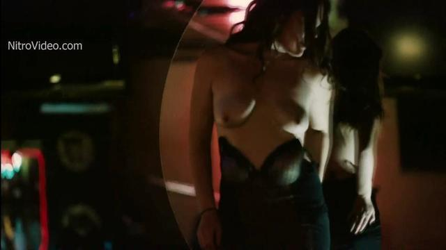 actress Melissa Marie Elias 21 years nude art snapshot in the club