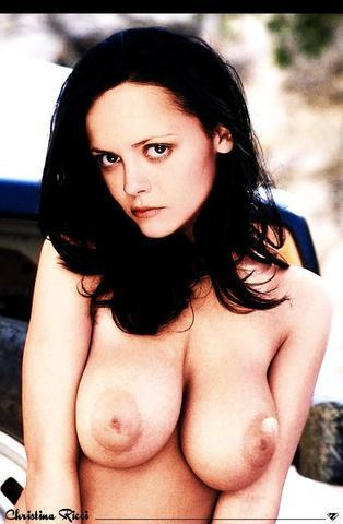 actress Christina Ricci 21 years Sexy art home