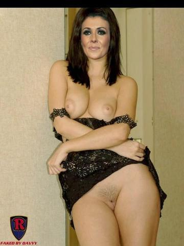 Naked Kym Marsh photo
