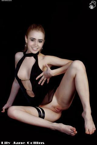 celebritie Lily Collins 2015 erogenous snapshot beach