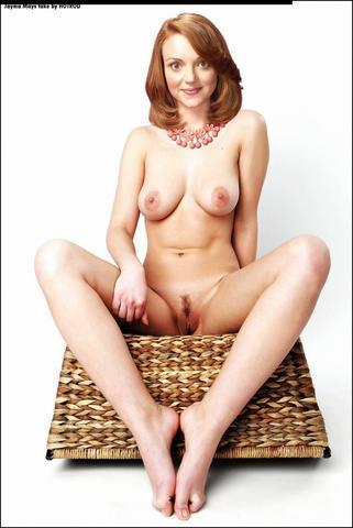 Naked Jayma Mays photoshoot