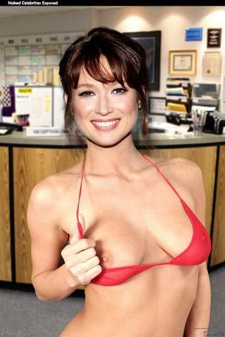 Naked Ellie Kemper art