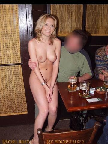 models Charlotte Roche 18 years obscene photo in the club