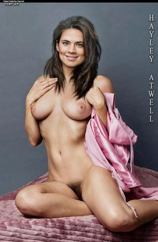 Naked Hayley Atwell art