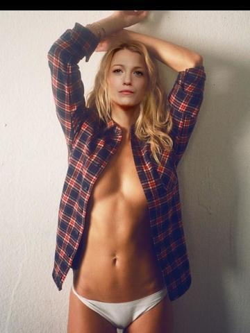 Naked Blake Lively photoshoot