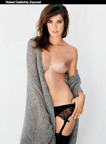 celebritie Cobie Smulders 25 years laid bare picture home