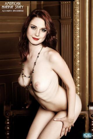 Naked Alexandra Breckenridge photos