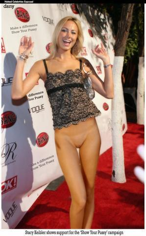 models Stacy Keibler 2015 nude photo in public