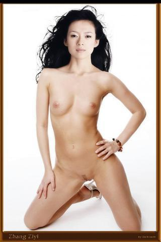 Naked Jingchu Zhang photo