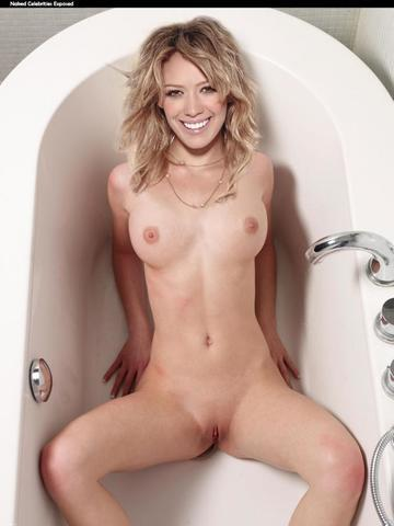 Hilary Duff nude art