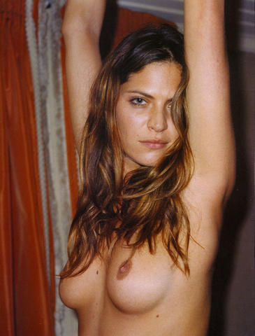 models Frankie Rayder 25 years mammilla picture in public