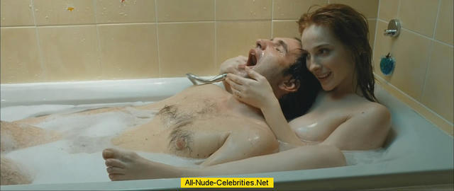 celebritie Vica Kerekes 23 years nude art foto home