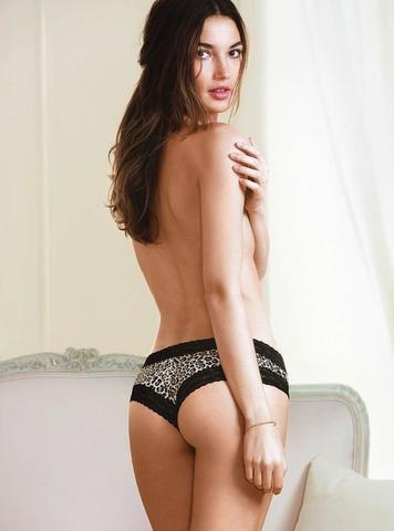 celebritie Lily Aldridge 2015 bawdy photoshoot home