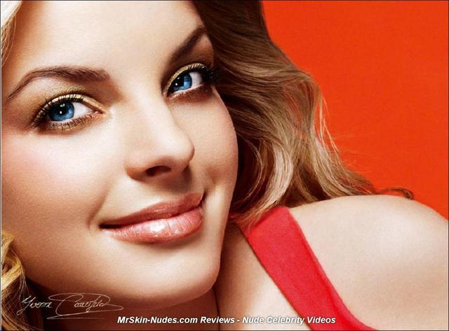 actress Yvonne Catterfeld 22 years private photography in public